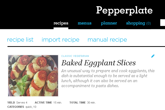 I Promise, This is a Good Eggplant Recipe