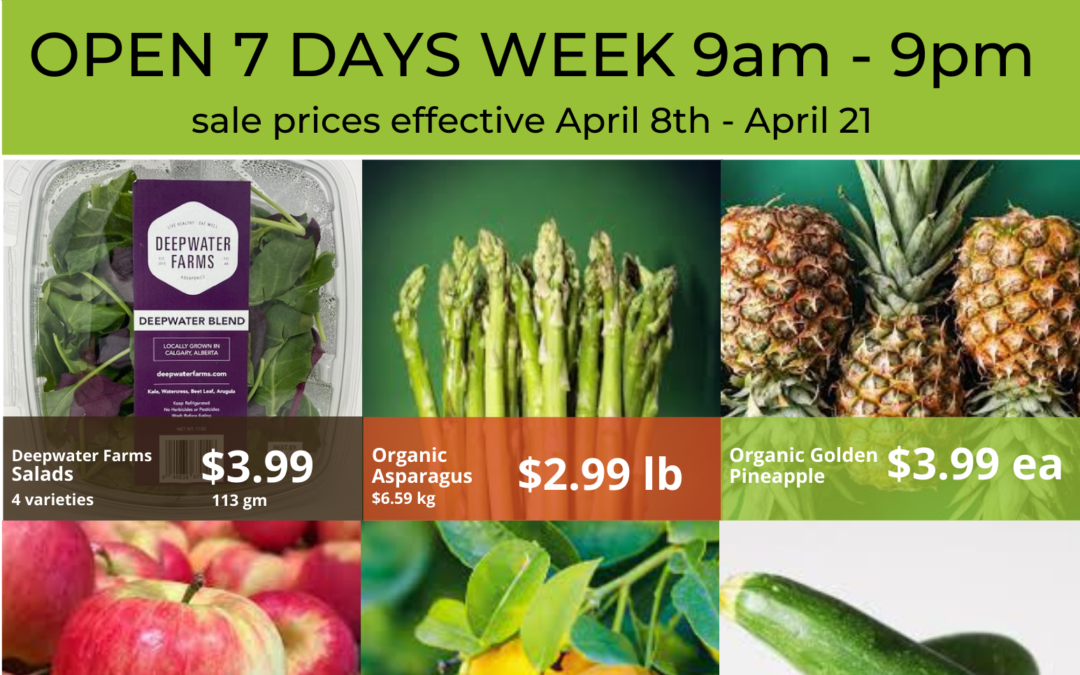 In-store Flyer April 8 through April 21, 2021